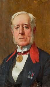 Rudolf Swoboda (1859-1914) - General Alexander Nelson Hood, 1st Viscount  Bridport (1814-1904)