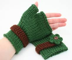 Knit Gloves Pattern