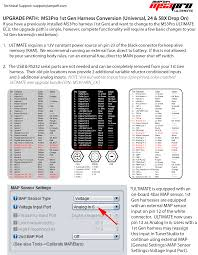 ms3pro documentation s on ampefi using a 1st gen harness evo ultimate