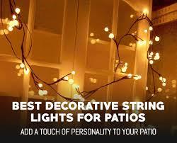 Decorative string lighting Bedroom Pinterest Ebay Best Decorative String Lights For Patios Outdoormancavecom