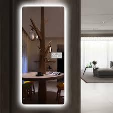led dressing mirror full length mirror