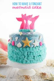 How To Make A Mermaid Cake With Fondant With Video Sugar Spice