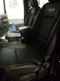 jeep seats with custom katzkin leather