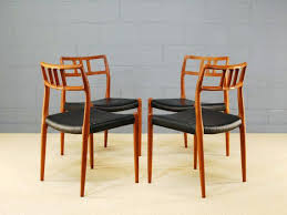dining room chairs mid century modern. danish teak dining room chairs mid century modern round table and set of 4 r