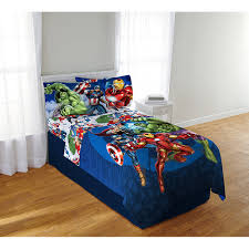 avengers blue circle bedding sheet set twin full from the of avengers bedding into