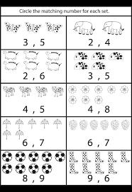 Math Counting Worksheet Worksheets Kindergarten Free Printable ...