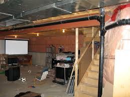 unfinished basement ideas. Unfinished Basement Floor Adorable Ideas O
