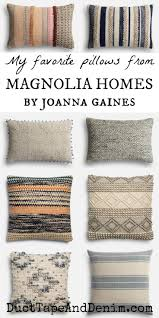 where to buy cheap throw pillows. Perfect Cheap My Favorite Pillows From Magnolia Homes By Joanna Gaines   DuctTapeAndDenimcom For Where To Buy Cheap Throw Pillows V