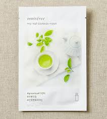 SKIN CARE - <b>My real</b> squeeze mask - green tea | <b>innisfree</b>