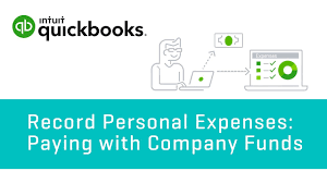 How To Enter Personal Expenses Paying With Company Funds