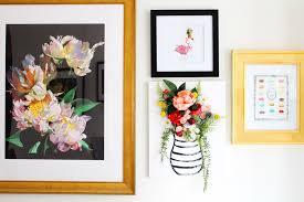 diy 3 d flower canvas art on 3d flower wall canvas art with diy 3 d flower canvas wall art huffpost