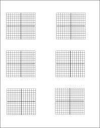 Blank Graph Paper Semi Log Numbered Template Medium Size To