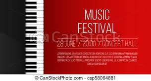 Concert Invite Template Creative Vector Illustration Of Piano Keys Art Design Jazz Live Concert Music Background Abstract Concept Graphic Element Poster Flyer Leaflet Or