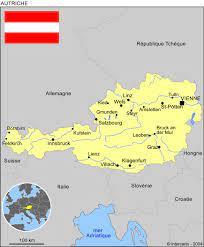 Découvrez ceux qu'il faut voir absolument. Carte Geographique Et Touristique De L Autriche Vienne Geographie De L Autriche