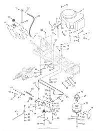 Ariens 936027 000101 sierra 1640h 16hp bs twin hydro 40 diagram engine fuel tank