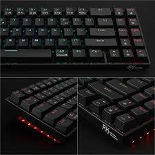 RK Royal KLUDGE <b>RK71</b> 70% RGB Backlit <b>Mechanical Gaming</b> ...