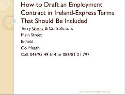 Breach Of Employment Contract Adorable The Employment Contract In Irish Employment LawThe Facts You Should