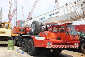 Used Original 70 Ton Tadano Tg 700e Truck Crane For Sale