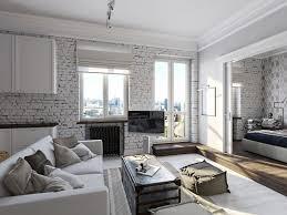 fascinating bricks wall interior design ideas with stone beautiful