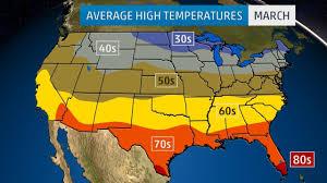 monthly average temperatures  weathercom