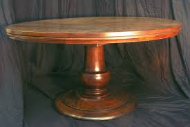 60 inch round pedestal dining table photo