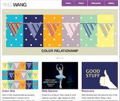 Ying Wang Web Design Graphic Design Web Design