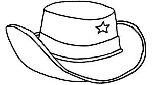 Small Picture hat coloring page