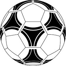 サッカー04 サッカーボール の無料イラスト イラストポップのスポーツ