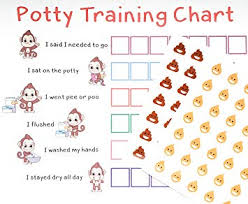 Toddler Potty Chart Ideas Potty Training Sticker Chart Reward Monkey Design For Toddler Girls And Boys Toilet Seat Motivational Weekly Progress Gift With 50 Poop Pee Sticker