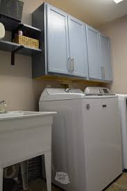 clever diy laundry room cabinets
