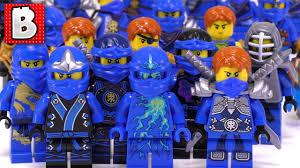 Every LEGO Jay Ninjago Minifigure Ever Made!!!