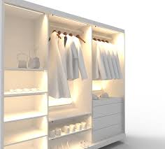lighting for closet. led closetrated lighting system with aluminum extrusions and diffused light for closet 2