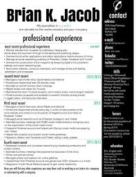 Modern Resume Style Esty Professional Modern Resume By Enhanceexperience On Etsy 15 00