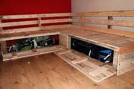 diy sectional pallet bench with storage sectional sofa pallets best diy patio sectional sofa plans