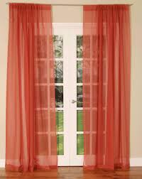 um size of curtain voile sheer curtains curtain panels inch crushed grommet rod pocket ivory