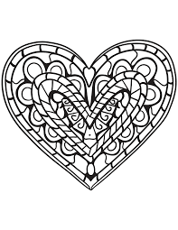 There is no rule of thumb as to when a child is old enough to start painting or when they. Hearts Coloring Pages For Adults Best Coloring Pages For Kids