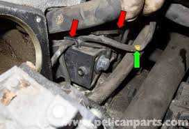 volvo v70 crankshaft sensor replacement 1998 2007 pelican working at the lower front corner of the cylinder head near the throttle housing mounting