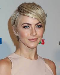 here we have a layered boy cut with an undefined deep side part the deep side part creates a faux bang many women are afraid to go short but if you pair
