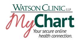 Watson Clinic My Chart Patient Portal