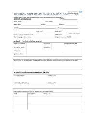 Ic Medical History Form Template Employee Referral Word Free