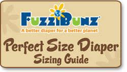 Fuzzibunz Medium Size Chart Fuzzibunz Cloth Diaper White Large