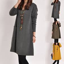 <b>CYSINCOS</b> Autumn Maternity <b>Dresses</b> Casual Large Size ...