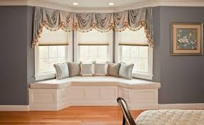 bay window seat.  Seat Design Your Home With Bay Window Seat Cushions In
