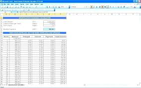 Amortization Schedule With Extra Principal Amortization Schedule With Extra Principal Payments Excel Calculate