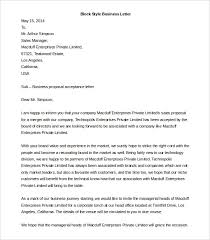 Best Solutions Of Business Letter Template 44 Free Word Pdf