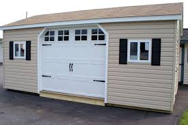 22 Simple Storage Sheds With Garage Doors Storage Shed Plans With Garage Door