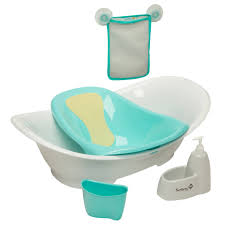 the custom care 3 stage bath center by safety 1st is a sleekly designed baby bath tub that offers the flexibility to adapt and grow with a young family