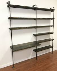 office shelving units. Industrial Desk Pipe Shelving Unit With Home Office Furniture Shelves Units