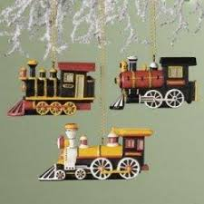 You'll find a great selection of train ornaments featured here. Train  lovers and collectors will really enjoy these train ornaments and will love  receiving ...