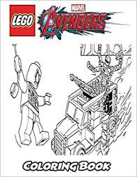 Amazoncom Lego Marvel Avengers Coloring Book Coloring Book For